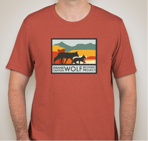 GCWRP new logo clay tri blend unisex tee