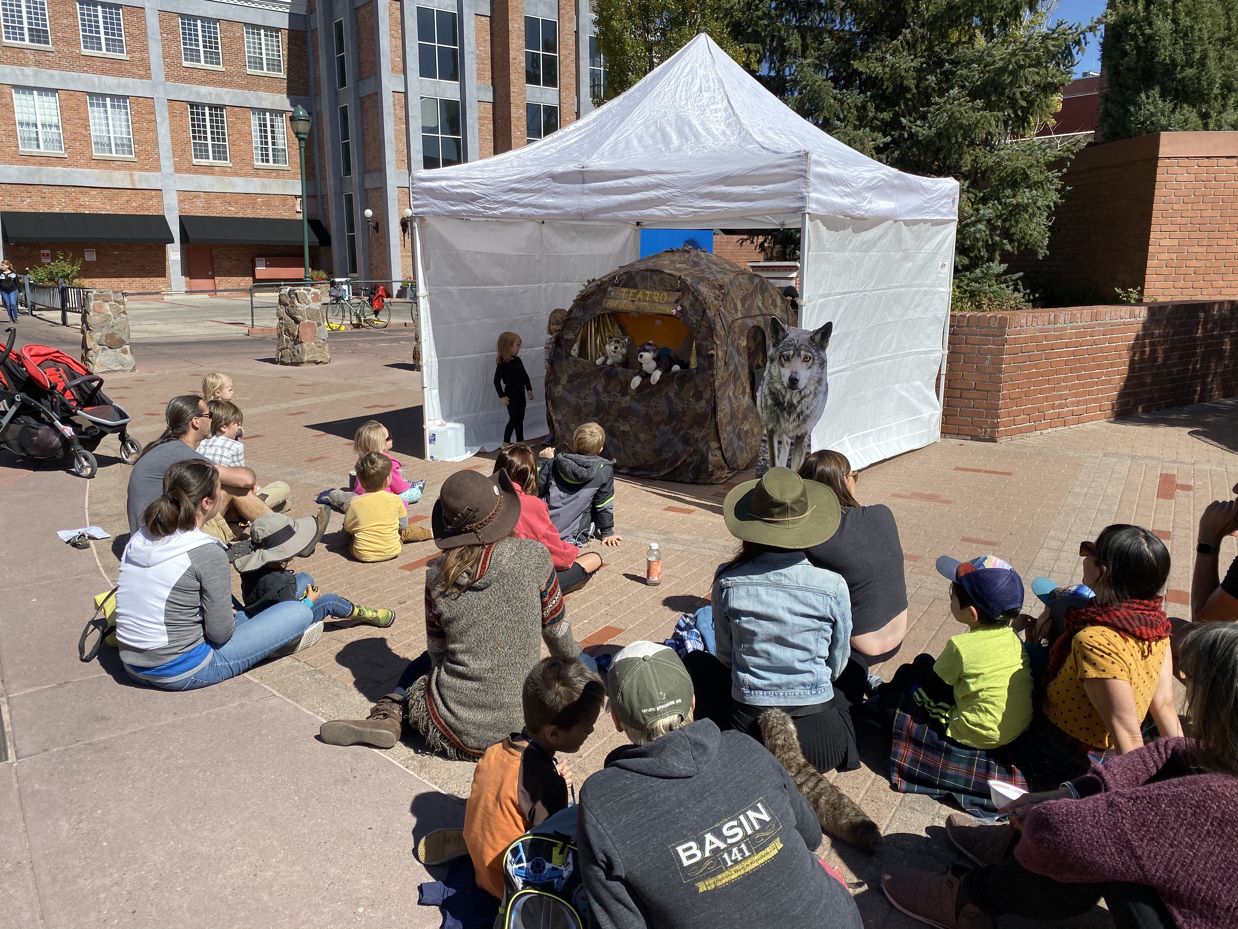 GCWRP puppet show Heritage Square Oct2019