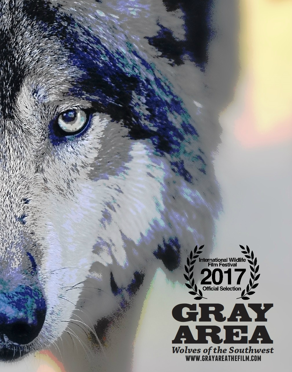 Gray Area Poster With Laurels