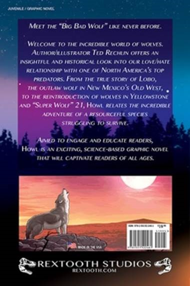Howl book back cover